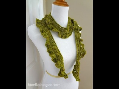 Episode 26: How to Crochet the Arugula Scarf