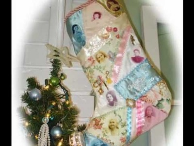 Family History Legacy Christmas Crazy Quilt Stocking Craft Project Part 2