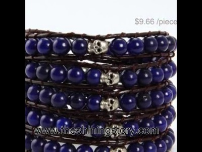 How to by wholesale cheap chen luu beaded leather warp  bracelets cheap fashion jewellery