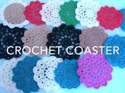 How To Crochet Coasters #2