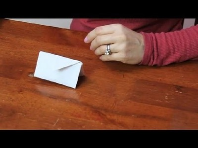 How to Fold a Paper Purse : Paper Folding Projects
