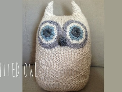 How to knit an Owl - 2