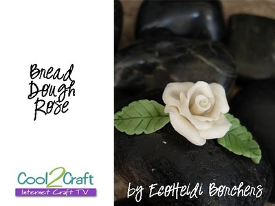 How to Make a Bread Dough Rose by EcoHeidi Borchers