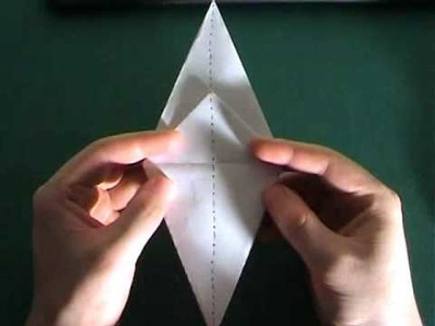 How to make an origami moat monster