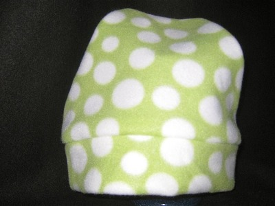 How to sew a Fleece Hat without a pattern DIY