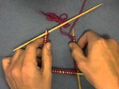 Knitting Tip - Join to work in the round & avoid the gap