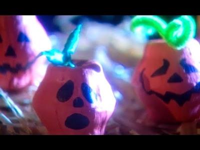 Mini-Pumpkin Egg Carton Craft | Halloween | Babble