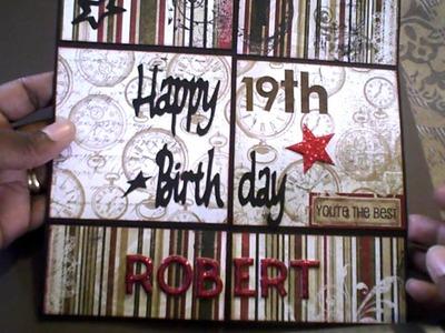 Birthday Diy10 3d How To Make Happy Birthday Pop Up Box Card Diy