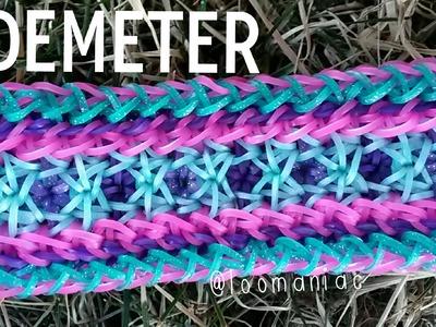NEW! Demeter Bracelet on the Rainbow Loom