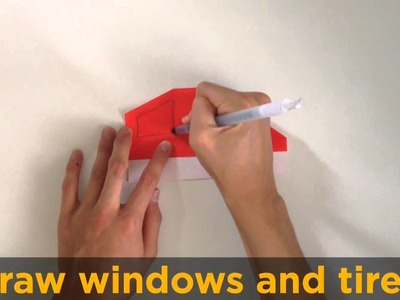 Origami easy movie.  An Origami car instruction movie with
