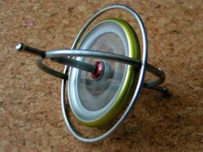 Self uprising gyroscope at high speed; full run