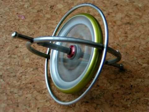 Self uprising gyroscope at high speed; full run