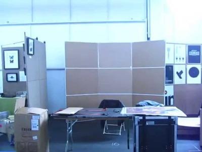 Setting Up My Booth at Renegade Craft Fair