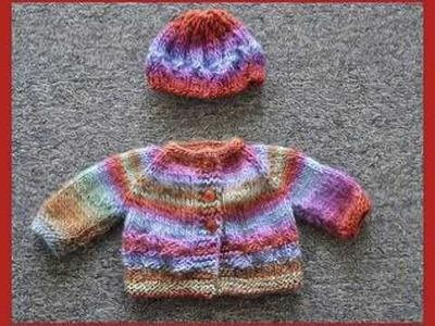 Sweater & Hat Free Knitting Pattern