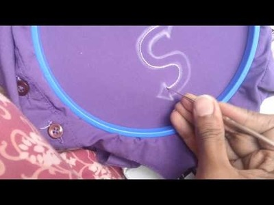 Thread work ,embroidery, crochet needle