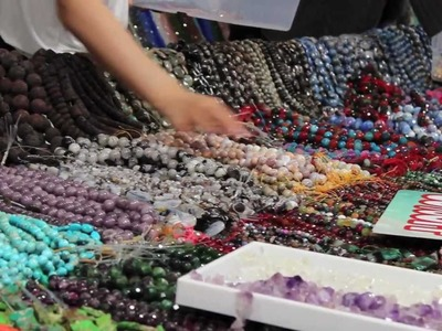 Beading Instructional Seminars with Wendy Simpson Conner - International Gem and Jewelry Show