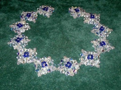 Beading4perfectionists : Victorian Necklace beading tutorial with Swarovski & miyuki beads