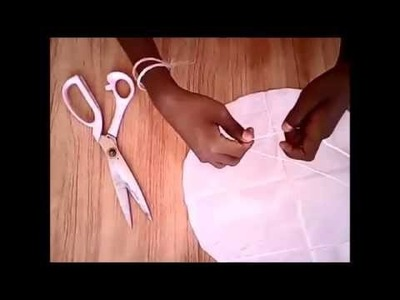 CRAFT ZONE- how to make a parachute