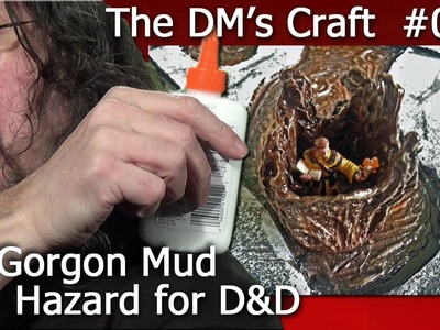 Crafting Gorgon Mud, an environmental hazard for D&D (The DM's Craft, Ep70)