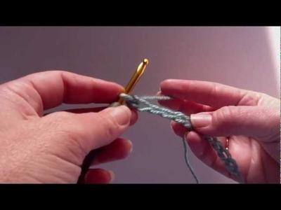 Crochet 101: 2. Single Crochet into Top Loop of Chain Stitch