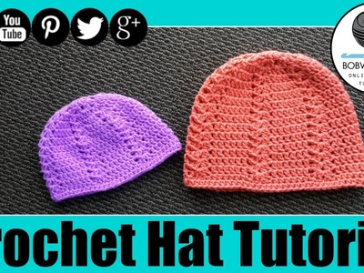 Crochet Hat Tutorial