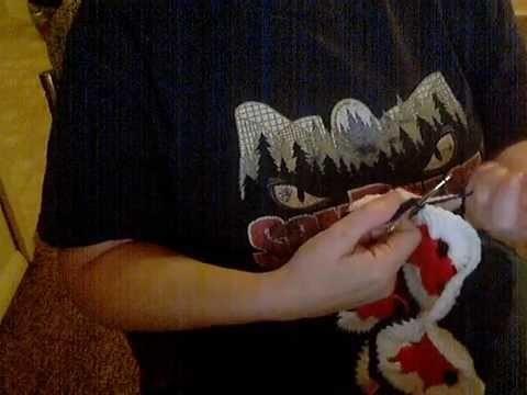 Crochet Starburst hotpad part 3