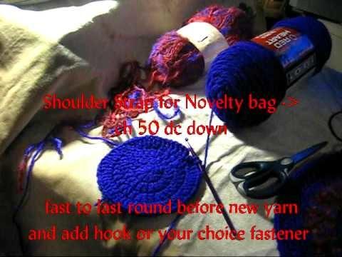 Crochet with me a Round handbag