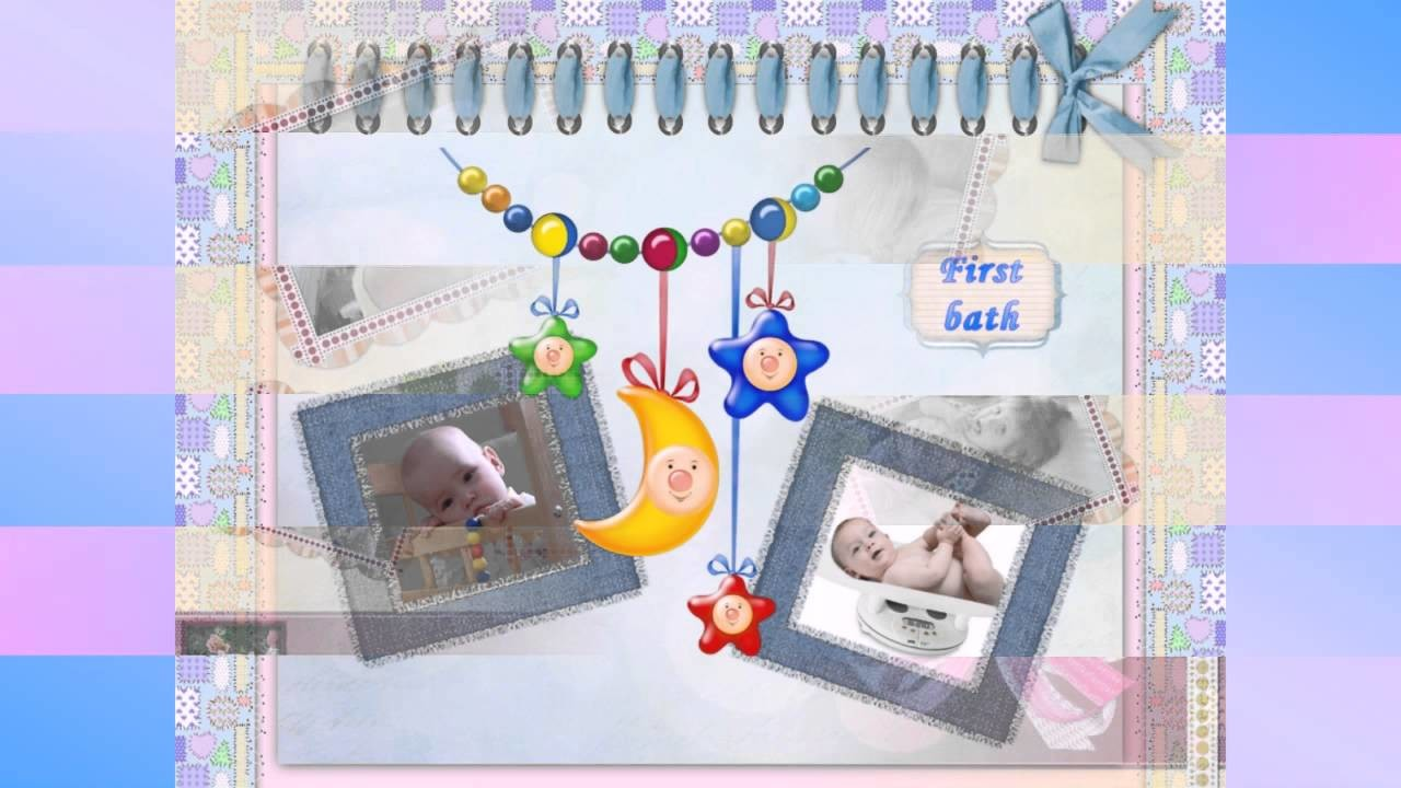 Cute Scrapbook Ideas for Babies and Kids