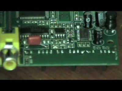 DIY 1MHz Oscilloscope Kit Instructional Video Part#1