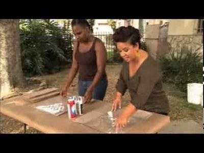 DIY African-inspired Pillow