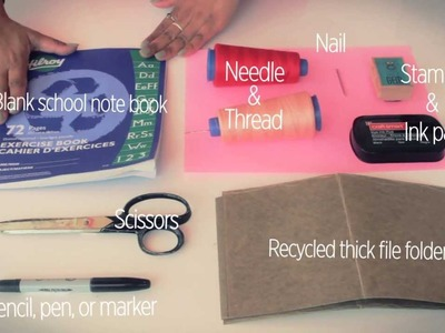 DIY & CRAFTS: HOW TO MAKE A JOURNAL by Natasha Singh (Miss_Singh)
