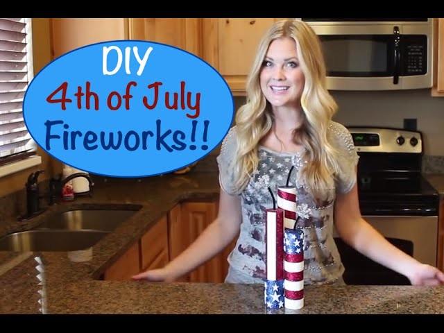 DIY Fun Fireworks!!