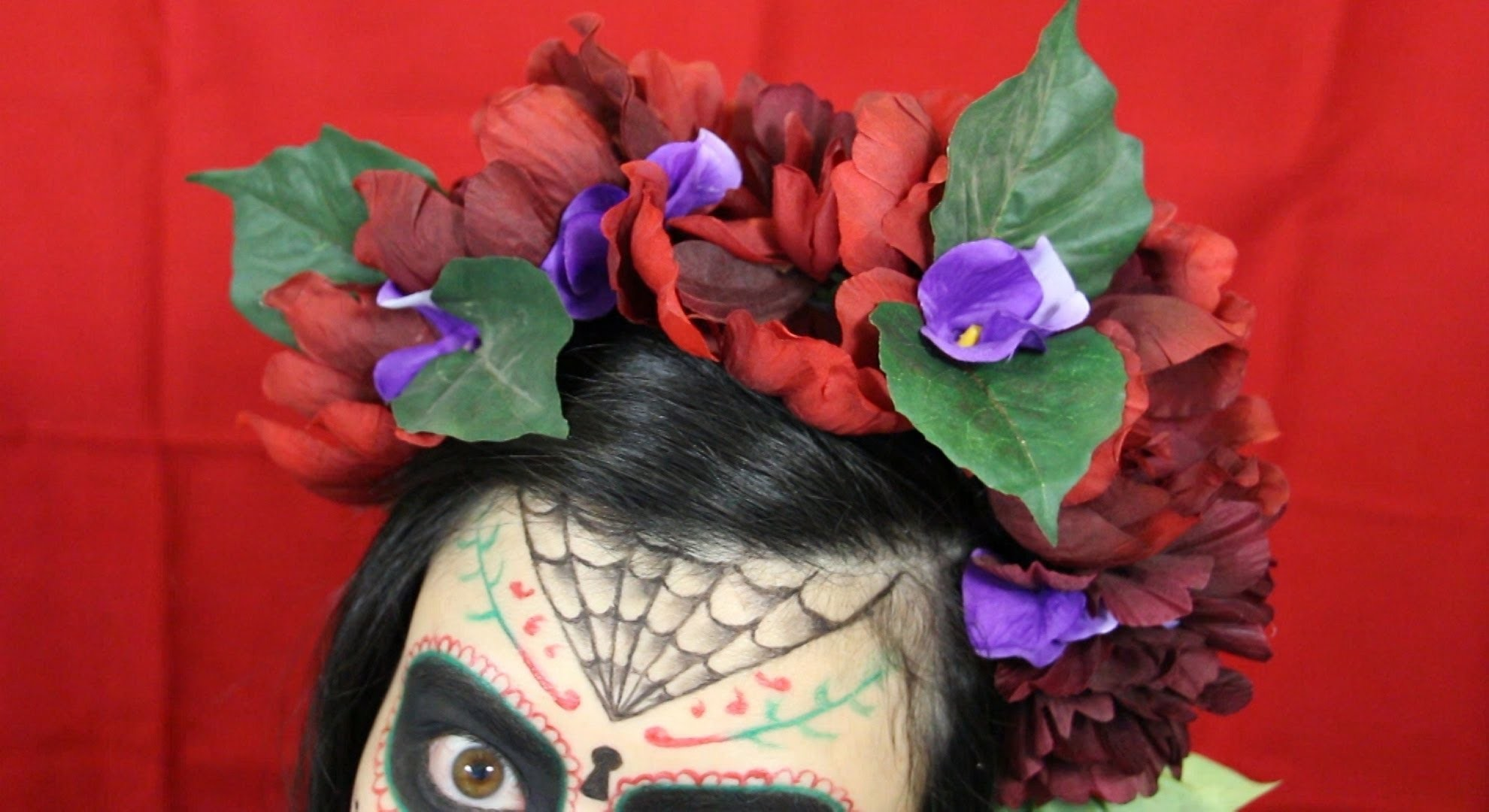 DIY Gothic Flower Day of the Dead Headpiece Tutorial ~ Fables in Fashion