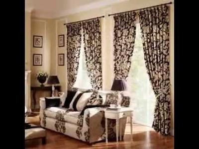 DIY Living room curtain design decorating ideas