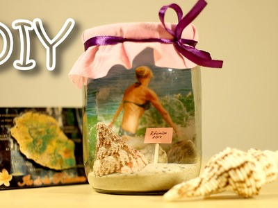 DIY Memory Jar Photo Frame - How To Make Photo Frame and Beautiful Interior Decoration