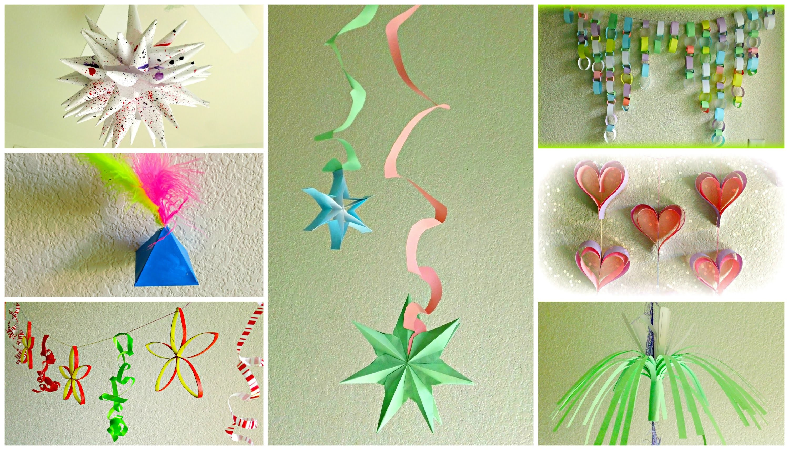 *DIY Paper Garlands and Decorations*