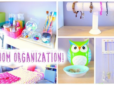 DIY Room Organization and Storage Ideas for Summer!