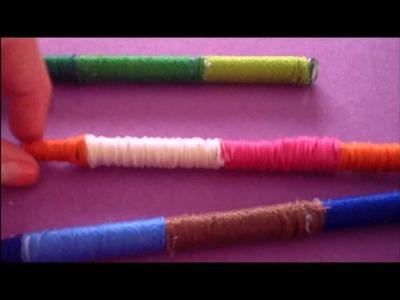 DIY String Wrapped Pen