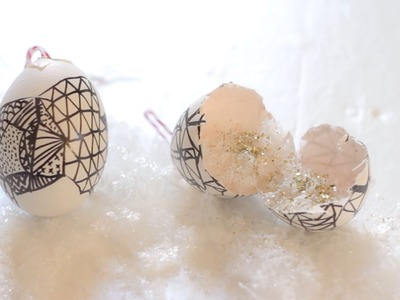 DIY Surprize Egg Ornament - HOLIDAY DIY WITH JUNE BHONGJAN