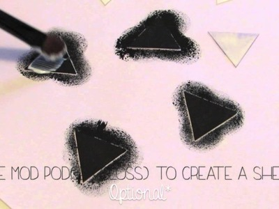 DIY: Triangle Necklace