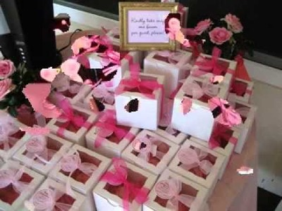 Easy DIY Baby shower favors decorations homemade