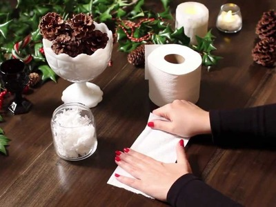 Holiday Decorations DIY   Quilted Northern® Bath Tissue