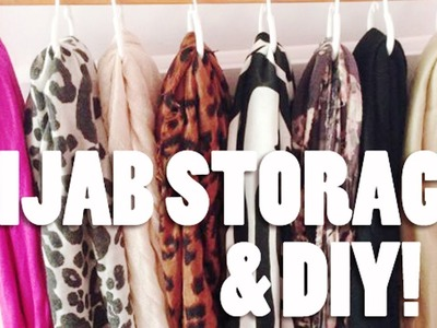 How I Store my scarves & DIY!