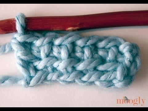 How to Crochet: Linked Double Crochet