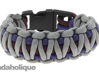 How to Do an Embellished, or King Cobra, Paracord Bracelet