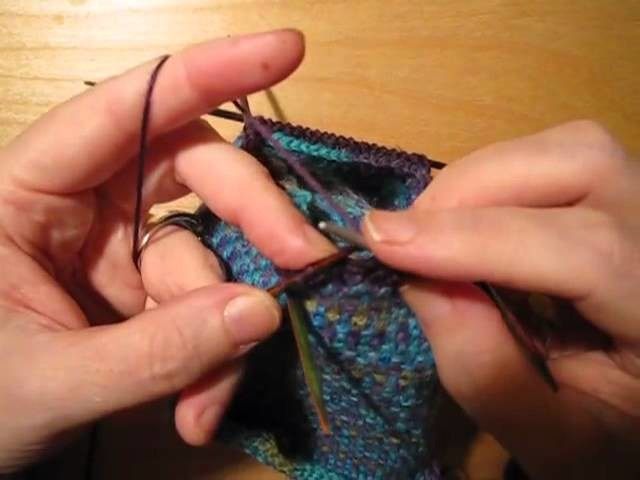 How to Knit Socks: Lesson 3, The Heel and Toe
