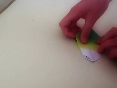 How to make a origami jar