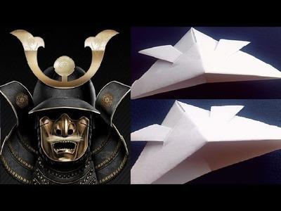 How To Make a Paper Samurai Helmet
