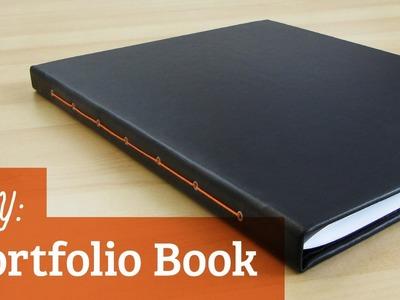How to Make a Portfolio Book