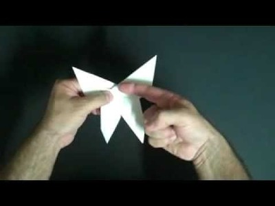 How to make a quick origami butterfly